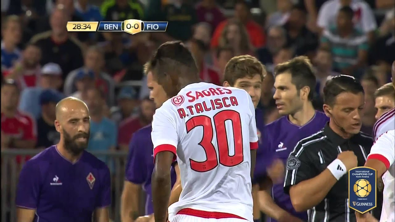 ICC 2015: SL Benfica vs. ACF Fiorentina Highlights - YouTube