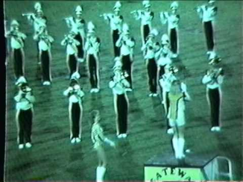 Gateway Senior High School Marching Band Festivals of Music Orlando April 11 through 14, 1985 4 of 5