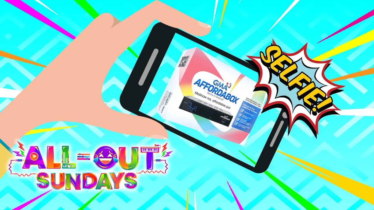 All-Out Sundays: Nag-selfie ka lang, mananalo ka na!