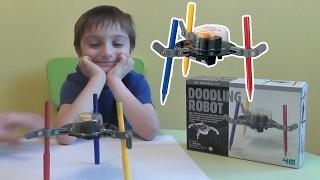 РОБОТ ХУДОЖНИК делаем сами из НАБОРА ДЛЯ КОНСТРУИРОВАНИЯ как сделать Doodling Robot