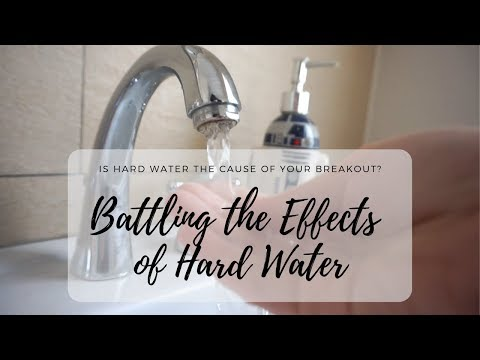 Is Hard Water Causing/Aggravating Your Breakout?