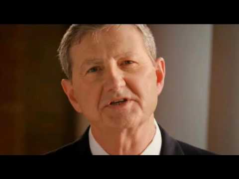 "John Kennedy Senate Ad - ""I Believe In Love ... And Guns"""