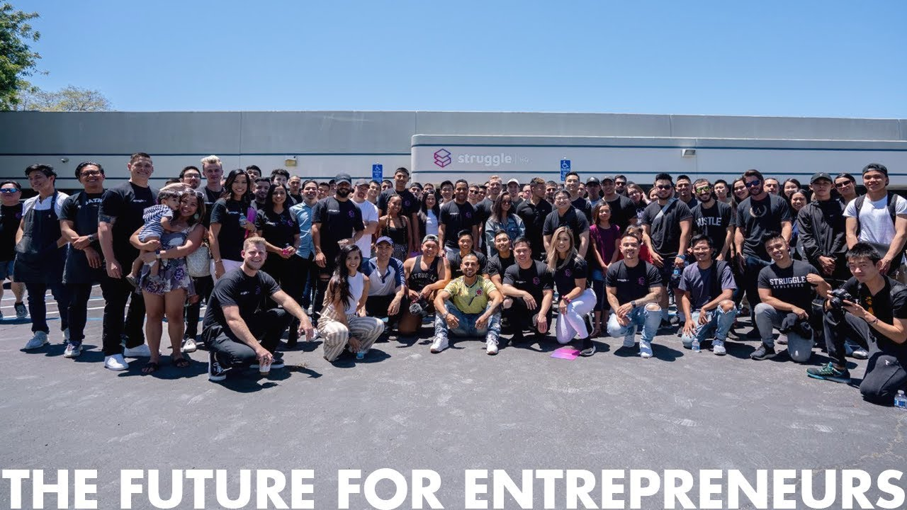 The FUTURE For Entrepreneurs | Grand Opening Day of Struggle HQ