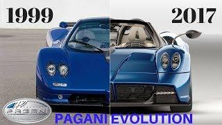 Evolution Of The Pagani Zonda (1999 - 2017)