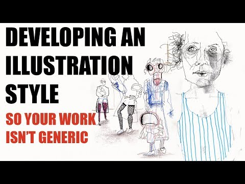 How to Develop Your Own Illustration Style