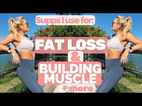 Supplements For FAT LOSS, Muscle, Anxiety & More II PLUS Activate Your Glutes & Squat Heavier