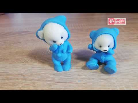 Шоколадные мишки в пижамках