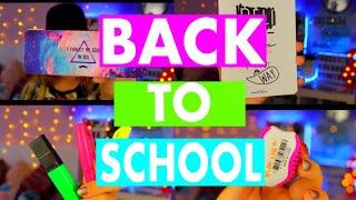 BACK TO SCHOOL 2017 : МОИ ПОКУПКИ К ШКОЛЕ / school supplies / Одежда в школу / Back 2 school