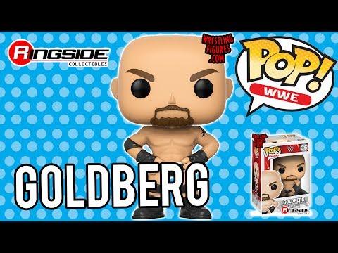WWE FIGURE INSIDER: Goldberg - WWE Pop Vinyl Toy Wrestling Action Figure