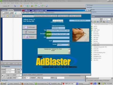 Free Ad Blaster Software - www.lazyrecruiterpros.net