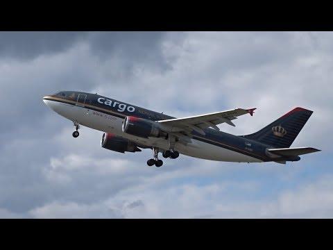 Royal Jordanian Cargo A310F - Departure at Maastricht Airport