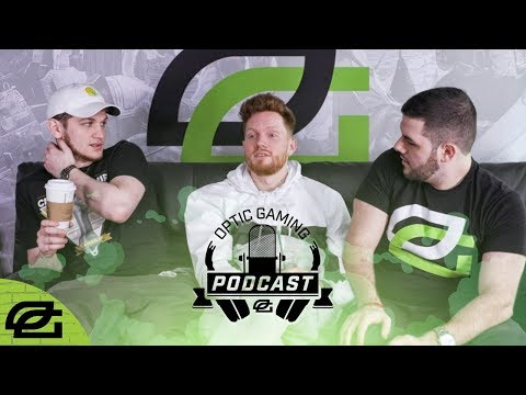 OpTic Podcast Ep 45 -  OpTic CouRage Jumps Into the Hot Seat!