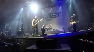 Skillet - Legendary (NEW SONG Irkutsk LIVE 2019)