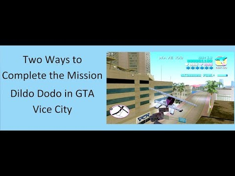 Two Ways To Complete The Mission Dildo Dodo In GTA Vice City (Must Watch).