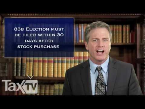 Startups and 83(b) - www.TaxTV.com