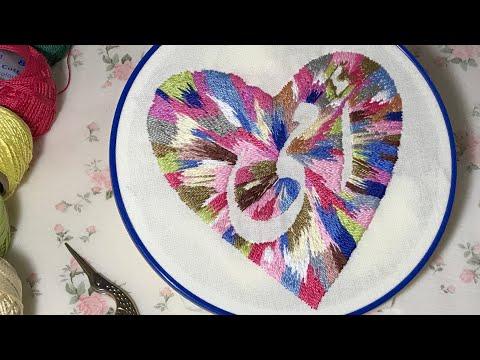 تطريز يدوي - hand embroidery Mother's Day