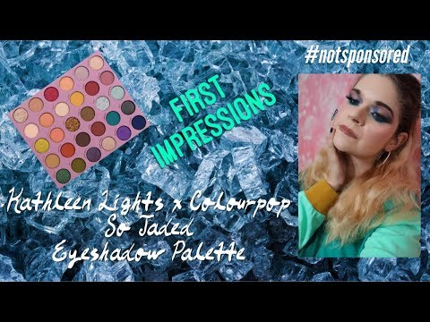 Kathleen Lights x Colourpop So Jaded Palette | First Impressions | Spotlight Cut Crease Tutorial thumbnail
