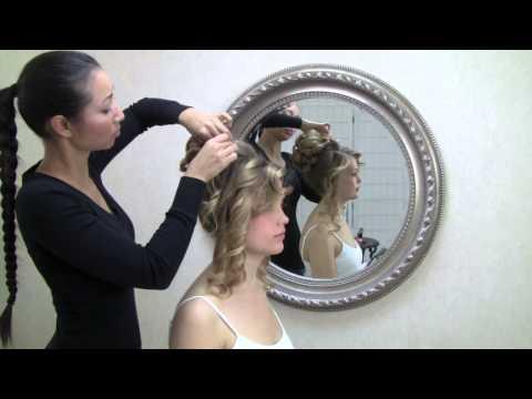 Bridal hair   romantic updo
