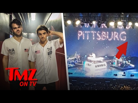 The Chainsmokers Piss Off Fans In Pittsburgh | TMZ TV