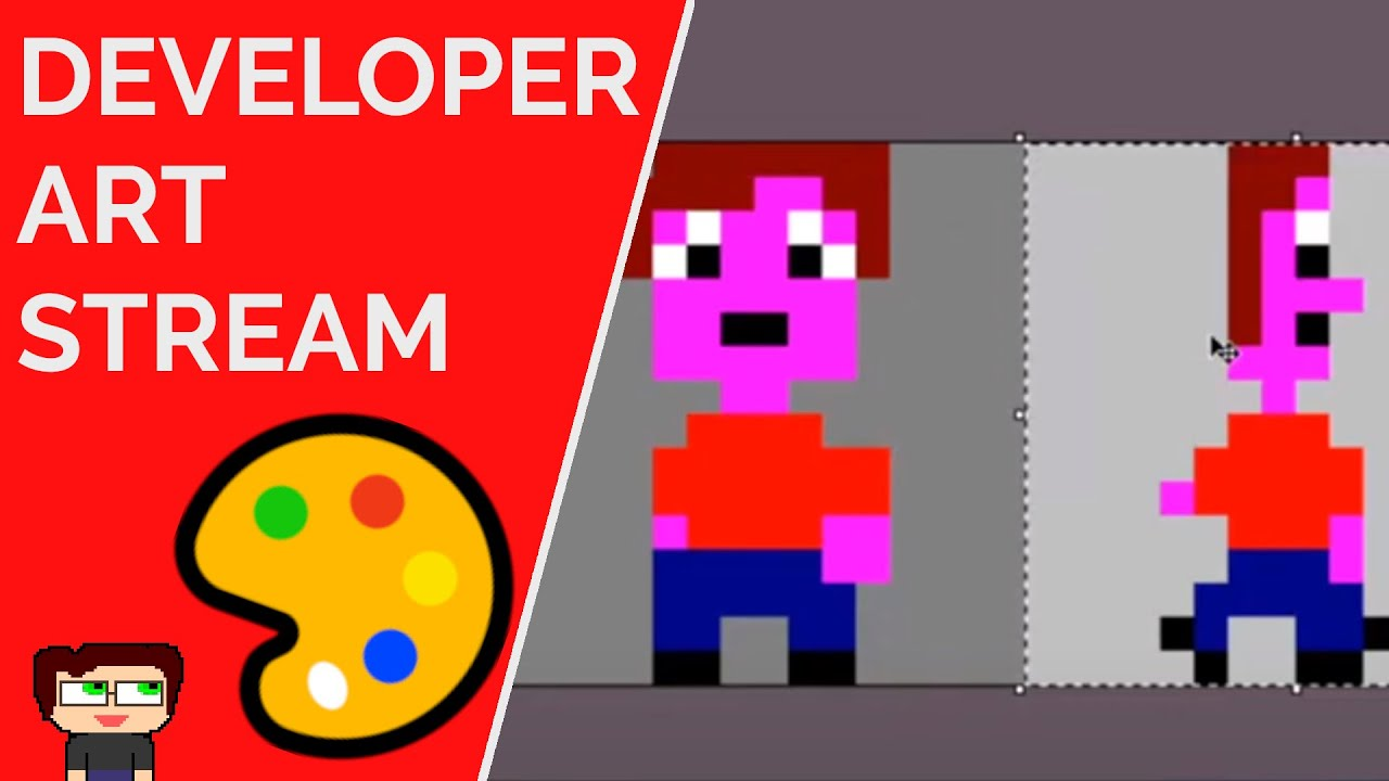 Thumbnail images for Developer Art Stream | LDJam 47 Prep video