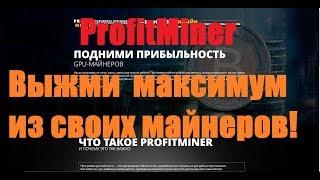 profit miner - приложение для  майнинга с максимальным профитом