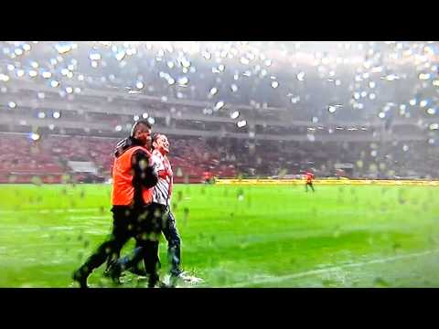 Poland Vs England Game Called Off Fans Have Fun and Slide in the Water