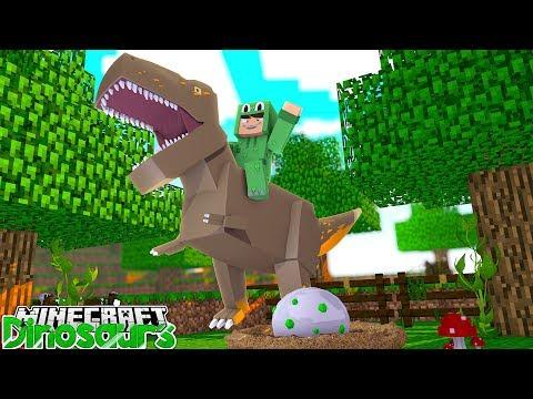 WE HAVE A DINOSAUR EGG! - Minecraft Dinosaurs w/ Little Lizard