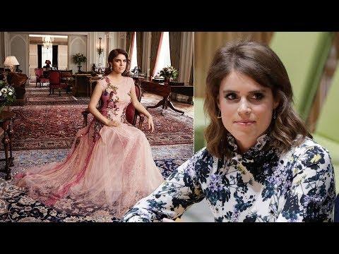 Princess Eugenies wedding dress will be made by British-based designer