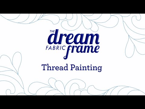 THE Brother Dream Fabric Frame: Paint with Thread