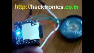 Demo of MP3-TF-16P MP3 Player Module Using Arduino