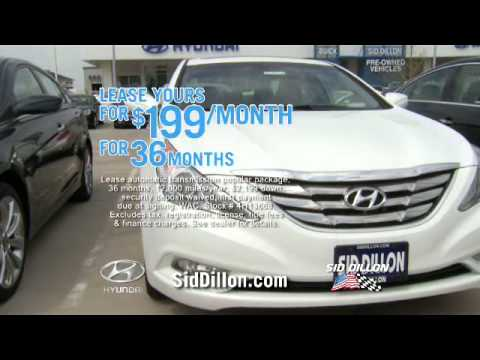 Sid Dillon Lincoln Ne >> Lease Your Sonata Gls At 199 Mo From Sid Dillon Lincoln