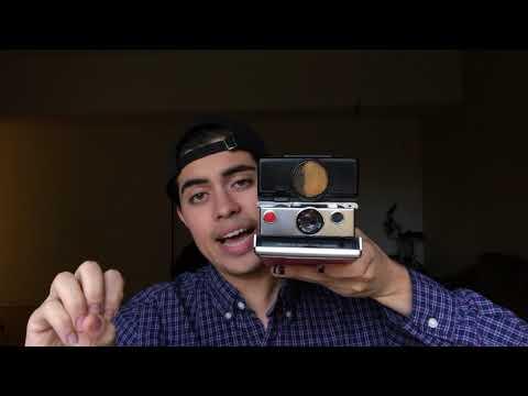 My SX-70 Sonar (First Video)