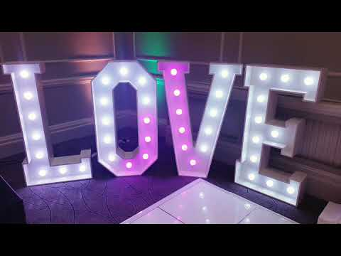 Colour changing love letters