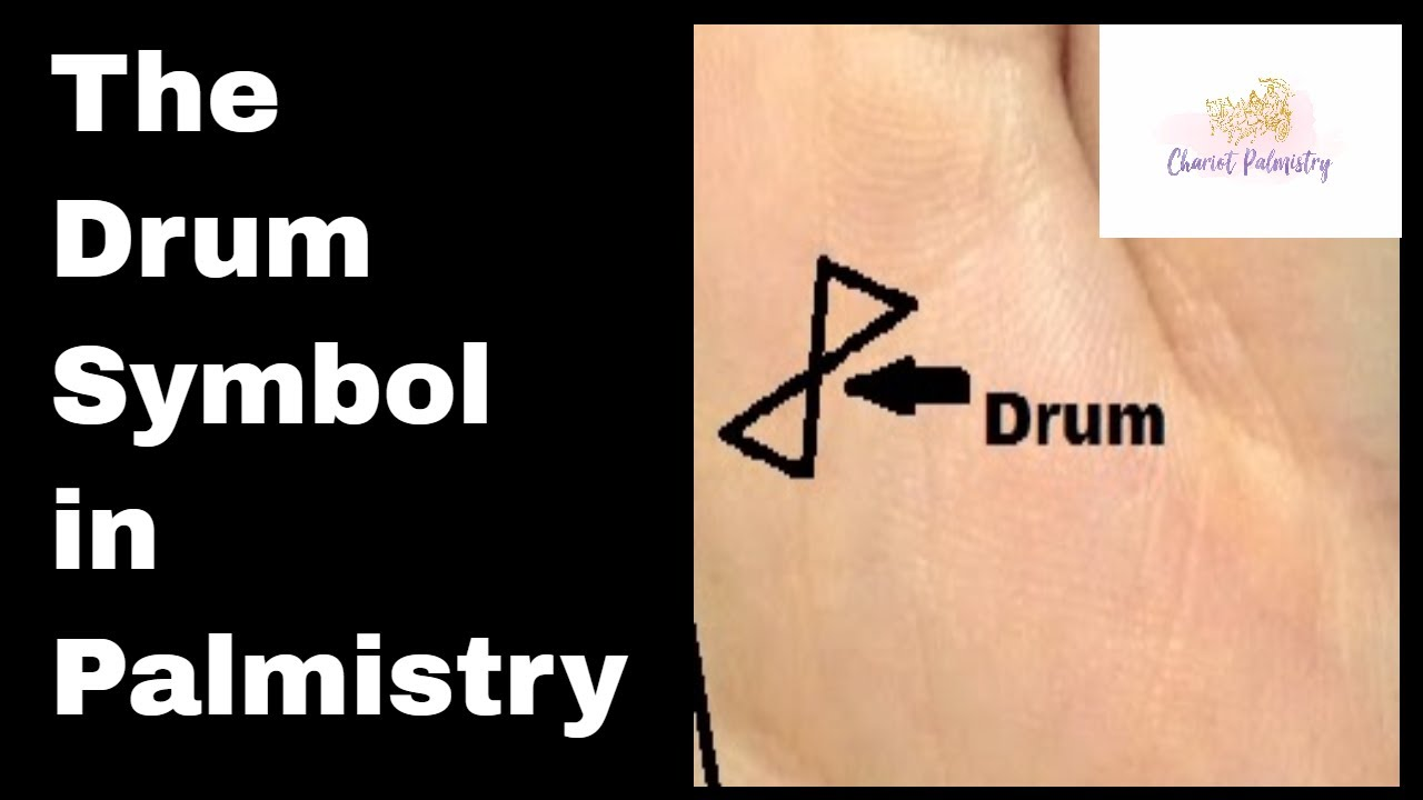 Indian Palmistry Symbols The Drum Sign And Spiritual Growth Youtube
