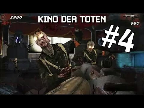 """COD:BLACK OPS ZOMBIE """"Kino Der Toten"""" ANDROID #4"""