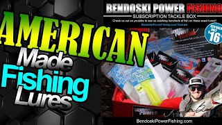 American Made Fishing Lures Bendoski Power Fishing Where are Bendoski Power Fishing Lures Made