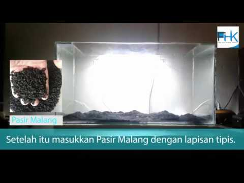 Tutorial Setup Substrate Aquascape Youtube