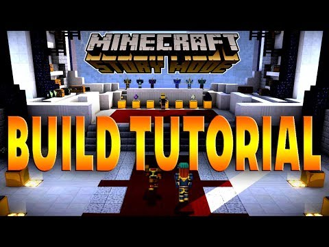 Minecraft Tutorial: How To Build The Trophy Room From Minecraft Story Mode
