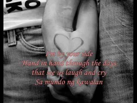 Hawak Kamay - ENGLISH Version (I'm By Your Side) w/ Lyrics