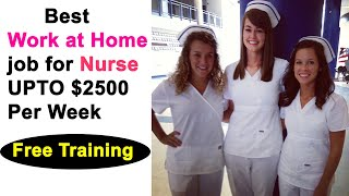Extra money as a nurse online ...