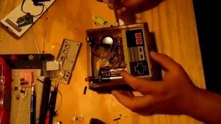Wooden handheld NES