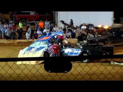 Friendship Speedway Fastrak Pro Crates (2nd main) Part 1)  9-22-12