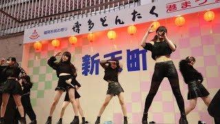 2018  年  5  月  4日(木) 新天町どんたく演舞台 アイドルステージ.