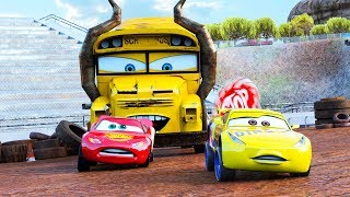Download Incredible Action Lightning McQueen @ Thunder Hollow Speedway Race Derby Miss Fritter Racers 🚥 🏎 Mp3 and Videos