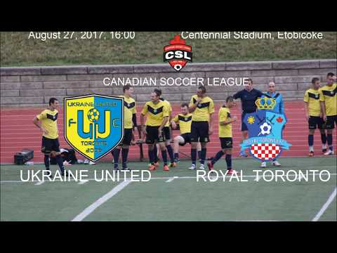 FC UKRAINE UNITED - ROYAL TORONTO FC. CANADIAN SOCCER LEAGUE