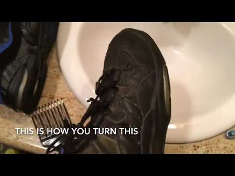 How To Clean NIKE Tennis Shoes