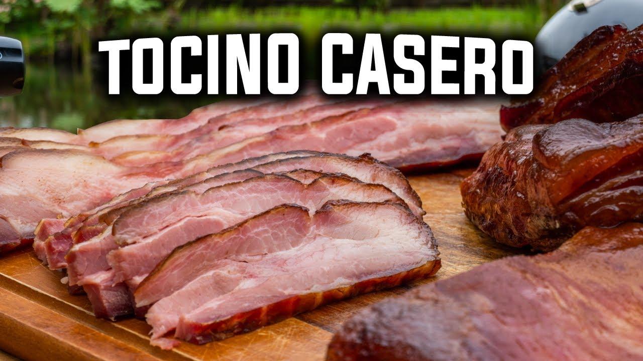 Tocino Casero explicado paso a paso. Muy Fácil y Delicioso.