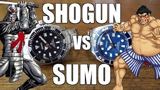Head to head comparison of two great Seiko divers - both featuring ...