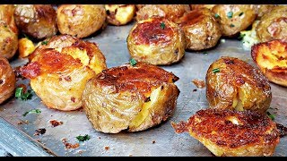How To Make Crunchy Crispy Roasted Potatoes | HD Cooking Video