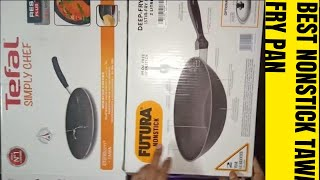 [Unboxing] Hawkins Non-Stick Flat Bottom Deep-Fry Pan| Tefal Simply Chef Non-Stick Concave Tawa